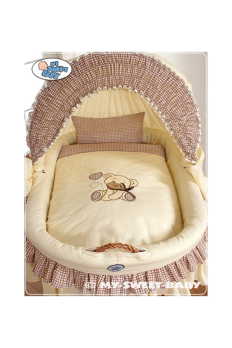 berceau b b teddy osier beige b b shopping march. Black Bedroom Furniture Sets. Home Design Ideas