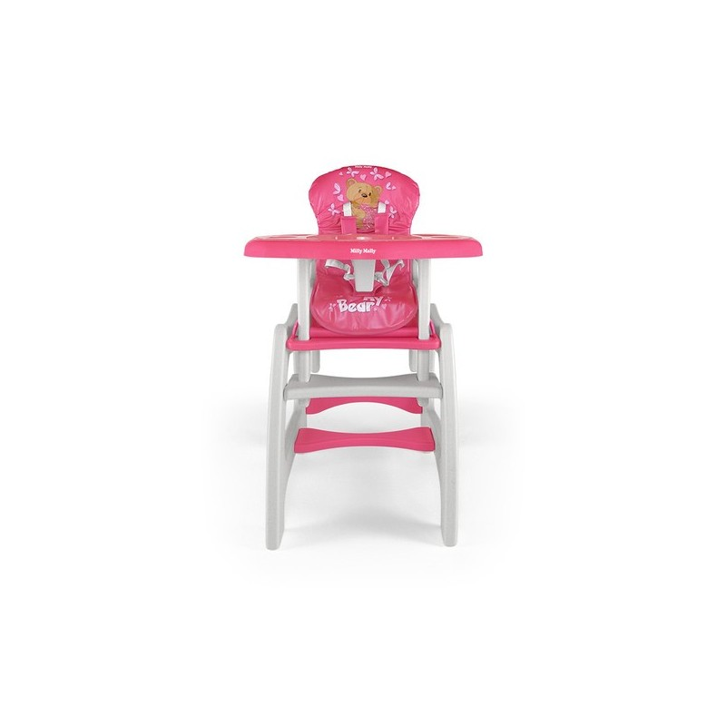 Chaise haute transformable en table et chaise bear chaises - Table et chaise haute ...