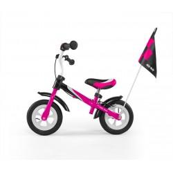 DRAGON DELUXE AVEC FREIN ROSE - draisienne vélo sans pédales