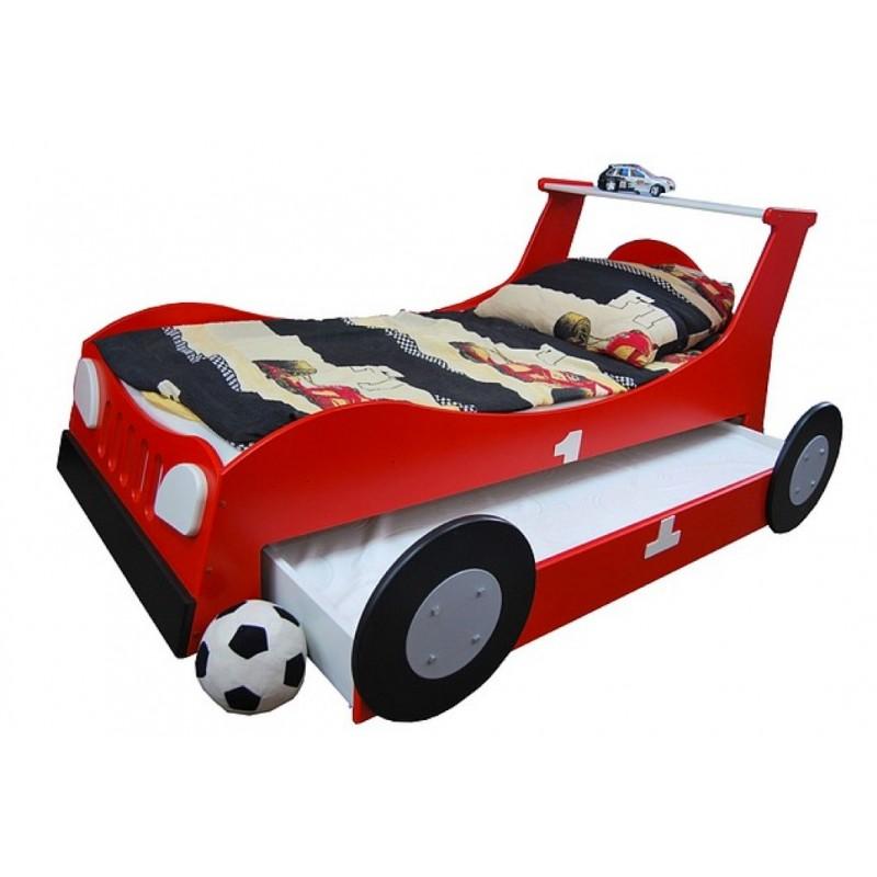 lit voiture gigogne 180x90 cm lits gigognes. Black Bedroom Furniture Sets. Home Design Ideas
