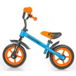 DRAGON BLEU-ORANGE - vélo sans pédales
