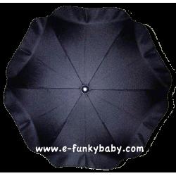 Ombrelle pour poussette universelle noir