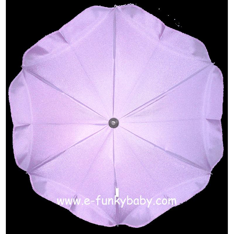 ombrelle pour poussette universelle violette ombrelles. Black Bedroom Furniture Sets. Home Design Ideas