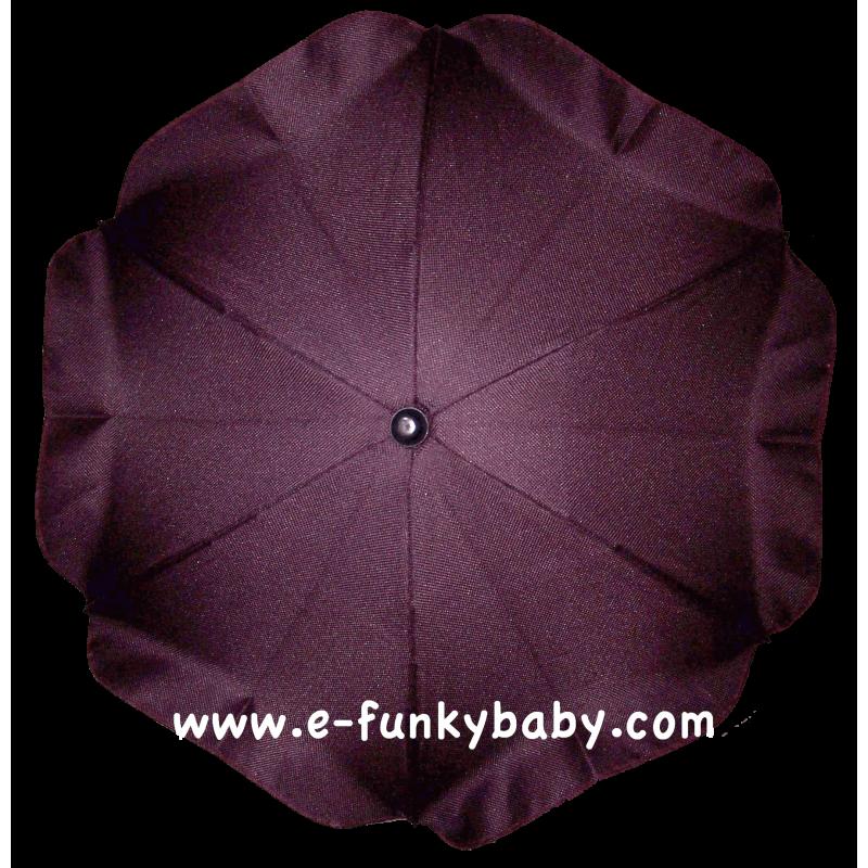 ombrelle pour poussette universelle prune ombrelles. Black Bedroom Furniture Sets. Home Design Ideas