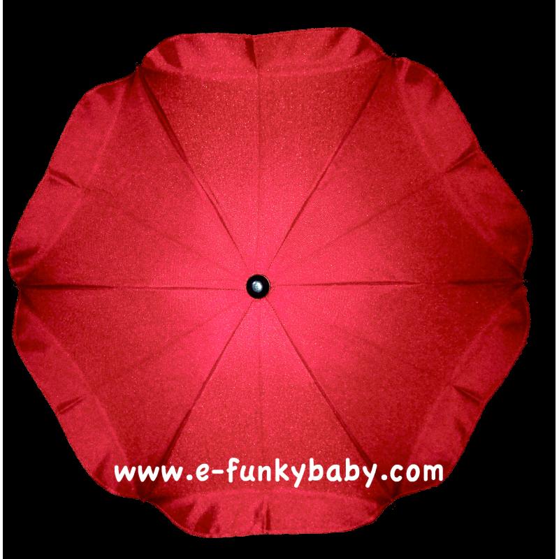 ombrelle pour poussette universelle rouge ombrelles. Black Bedroom Furniture Sets. Home Design Ideas