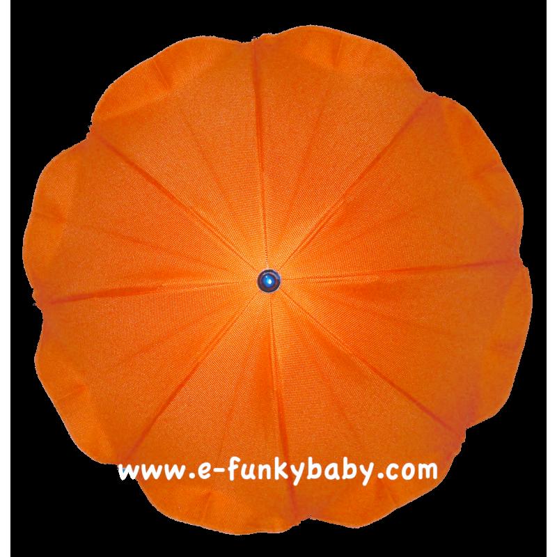 ombrelle pour poussette universelle orange ombrelles. Black Bedroom Furniture Sets. Home Design Ideas