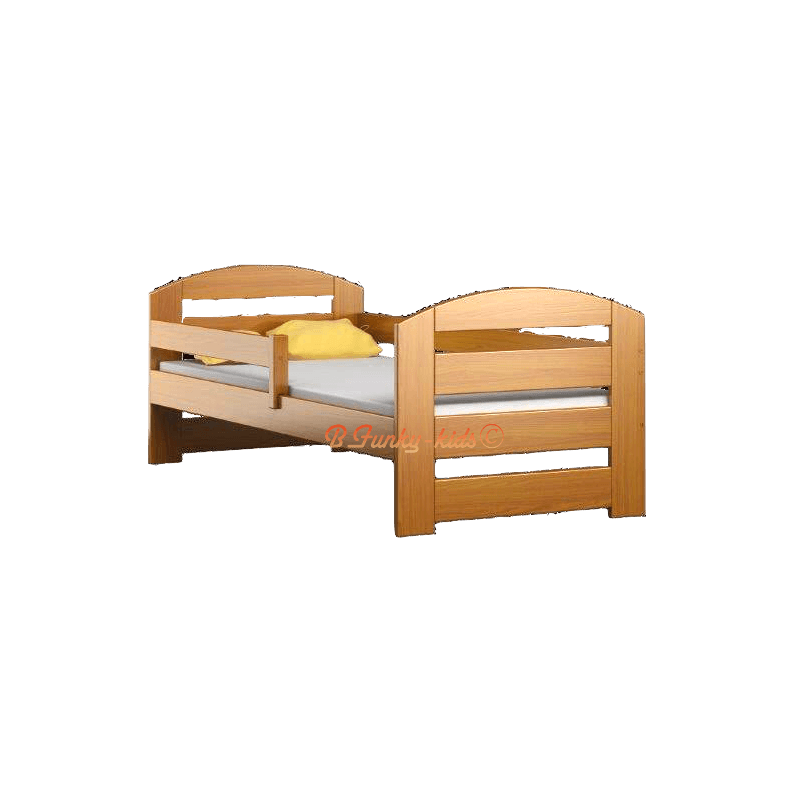 lit enfant en bois de pin massif kam3 160 x 70 cm lits. Black Bedroom Furniture Sets. Home Design Ideas
