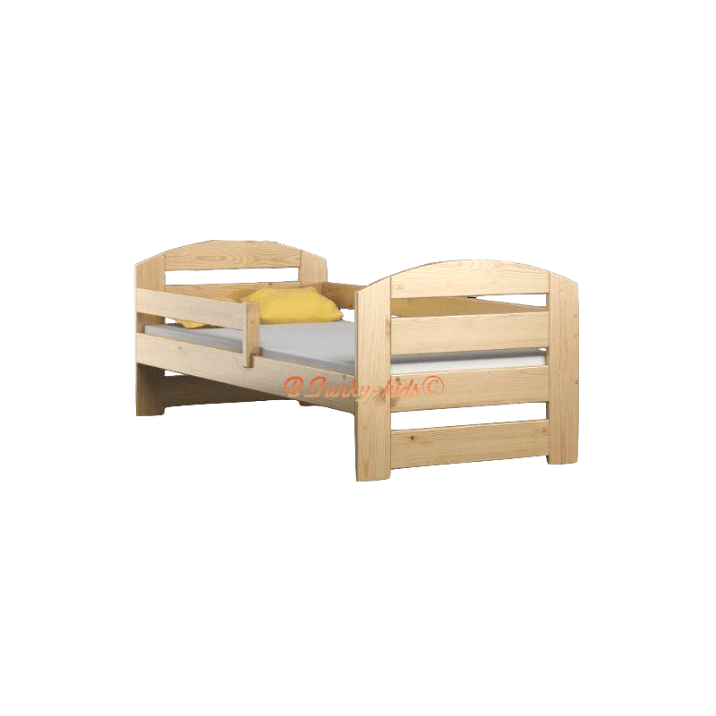 lit en bois de pin massif kam3 180x80 cm lits 180x80 cm. Black Bedroom Furniture Sets. Home Design Ideas