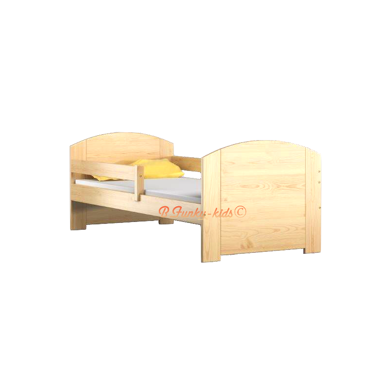 lit enfant en bois de pin massif avec tiroir kam4 160x80 cm lits 16. Black Bedroom Furniture Sets. Home Design Ideas