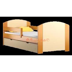 Lit en bois de pin massif avec tiroir Kam4 160x70 cm