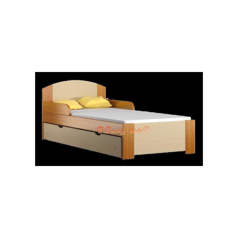 lit enfant en bois de pin massif avec tiroir bil1 160 x 80 cm lits. Black Bedroom Furniture Sets. Home Design Ideas