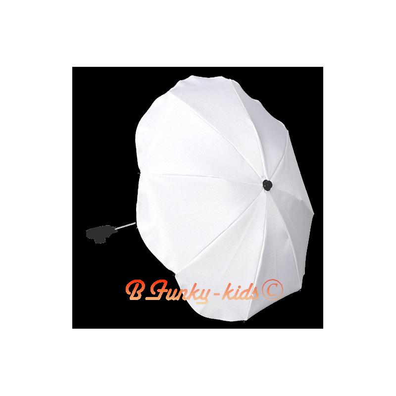 ombrelle pour poussette universelle blanc ombrelles. Black Bedroom Furniture Sets. Home Design Ideas