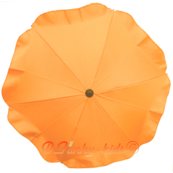 Ombrelle pour poussette universelle orange