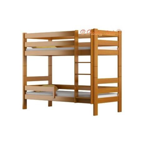 lit superpos en bois massif casper 160x80 cm lits superpos s pour. Black Bedroom Furniture Sets. Home Design Ideas