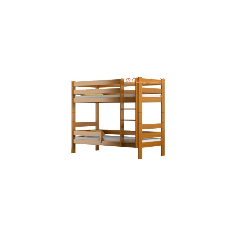 lit superpos en bois massif casper 160x80 cm lits superpos s pour. Black Bedroom Furniture Sets. Home Design Ideas