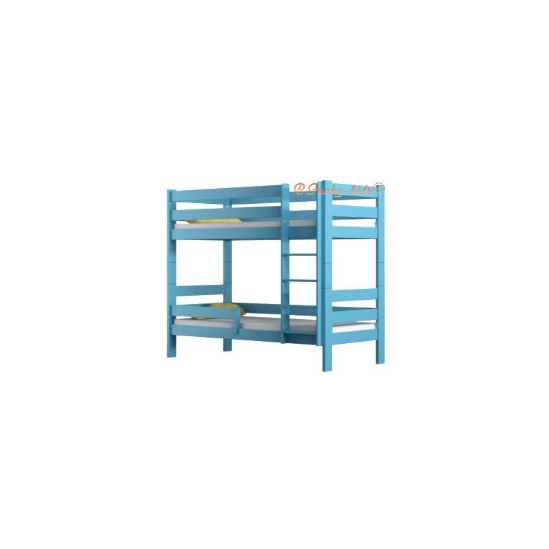 lit superpos en bois massif casper 180x80 cm lits superpos s. Black Bedroom Furniture Sets. Home Design Ideas
