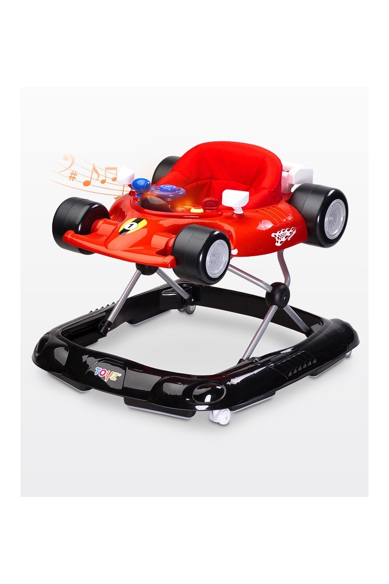 trotteur voiture speeder rouge b b shopping march. Black Bedroom Furniture Sets. Home Design Ideas
