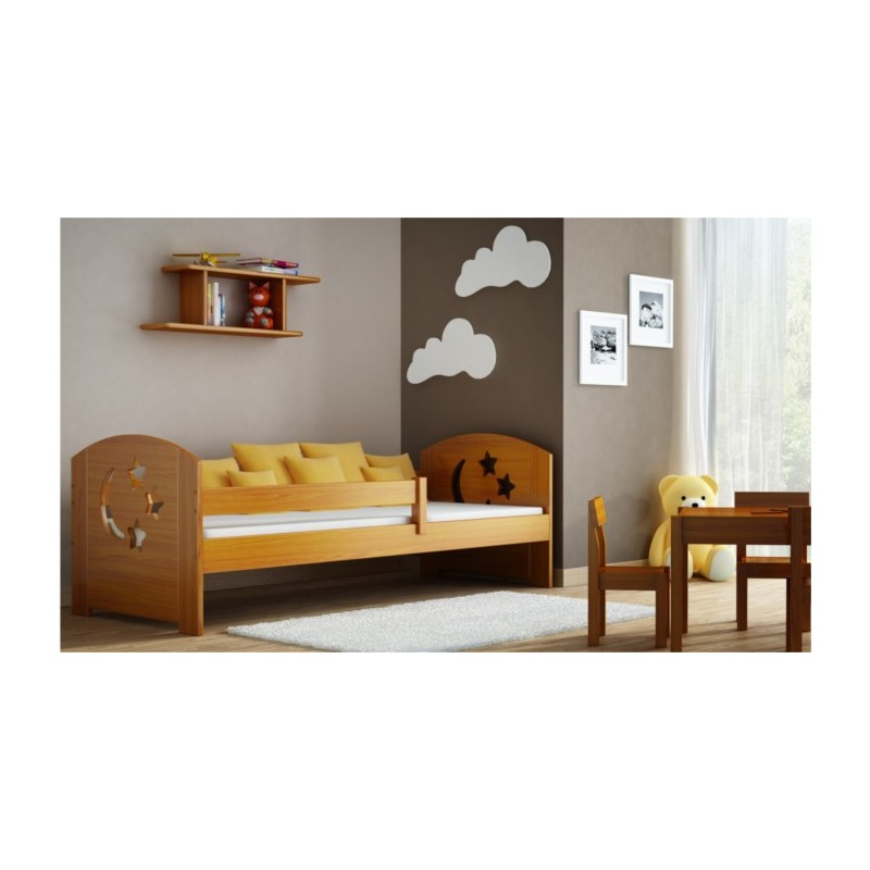 lit enfant en bois de pin massif molly 160x70 cm lits 160x70 cm. Black Bedroom Furniture Sets. Home Design Ideas