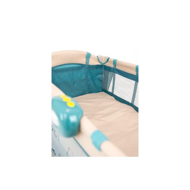lit parapluie avec table langer mirage lion beige lits de voyage. Black Bedroom Furniture Sets. Home Design Ideas