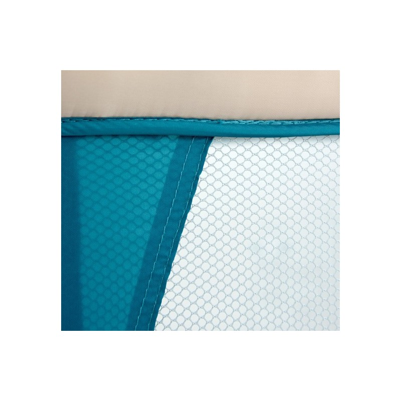 Lit parapluie avec table langer mirage jouets bleus lits de voyage - Table a langer lit parapluie ...