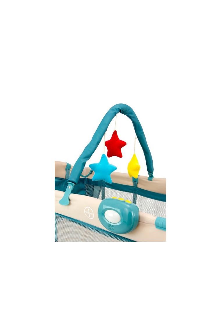 lit parapluie avec table langer mirage jouets bleus b b shopping march. Black Bedroom Furniture Sets. Home Design Ideas