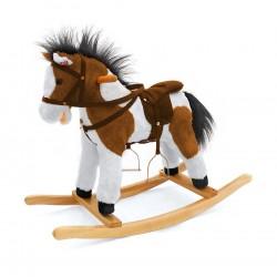 Cheval à Bascule Pony brun foncé