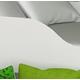 Lit superposé avec matelas Cabane Maisonnette 160x80 cm