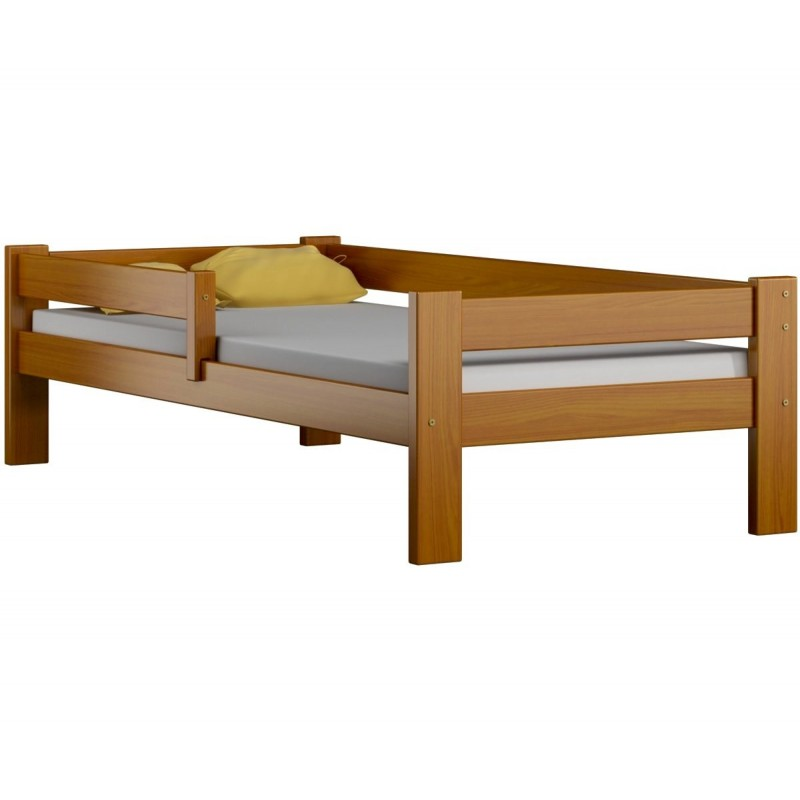 lit enfant en bois de pin massif dino 160x80 cm lits 160x80 cm. Black Bedroom Furniture Sets. Home Design Ideas
