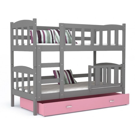 lit superpos bambi avec tiroir 160x70 cm b b shopping march. Black Bedroom Furniture Sets. Home Design Ideas