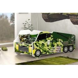 Lit camion armée 140x70 cm