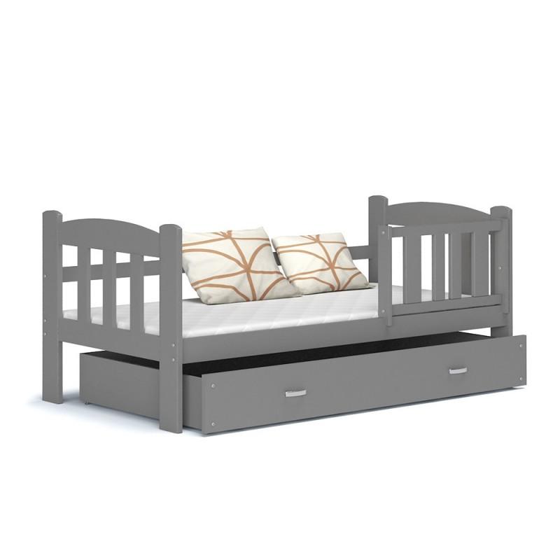 lit enfant teddy avec tiroir 160x70 cm lits 160x70 cm. Black Bedroom Furniture Sets. Home Design Ideas