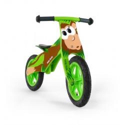 DUPLO SINGE - draisienne bois de vélo sans pédales