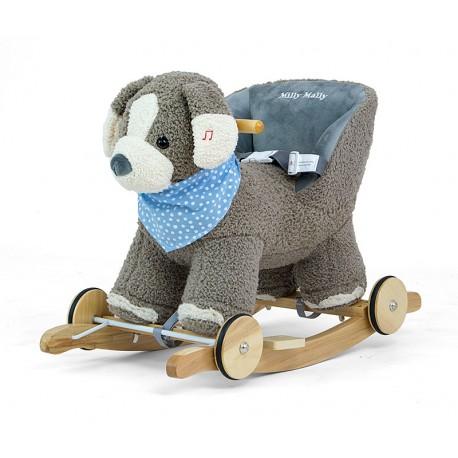Bascule Polly gris chien