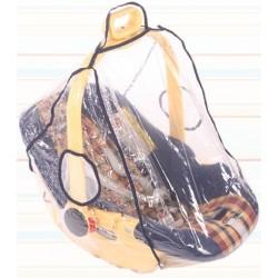 Universel protection habillage de pluie sur la porte-bébé, coque, un cosy, siège d'auto groupe 0