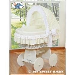 Berceau bébé osier Bellamy - Crème