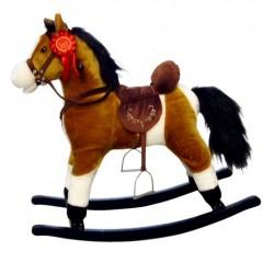 Cheval à Bascule Mustang brun