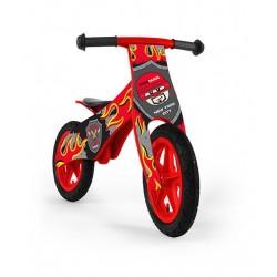 DUPLO POMPIER - draisienne bois de vélo sans pédales