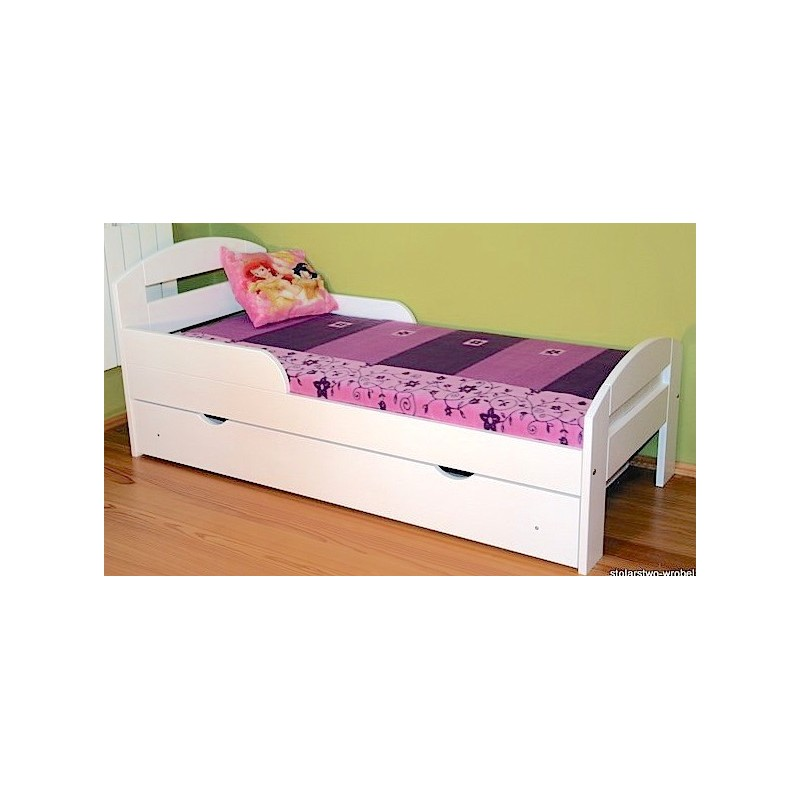 lit enfant en bois de pin massif tim2 avec tiroir 160 x 80 cm lits. Black Bedroom Furniture Sets. Home Design Ideas
