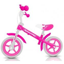 DRAGON AVEC FREIN ROSE - draisienne vélo sans pédales
