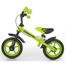 DRAGON AVEC FREIN VERT - draisienne vélo sans pédales