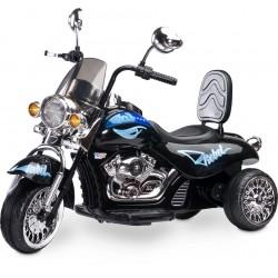 Voiture électrique Moto Rebel Noir