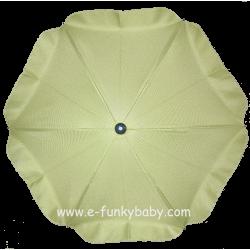 Ombrelle pour poussette universelle vert
