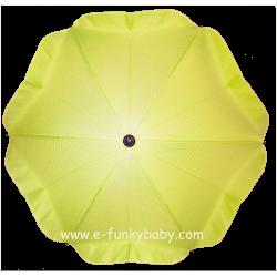 Ombrelle pour poussette universelle vert lime