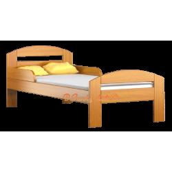 Lit en bois de pin Tim2 160 x 80 cm