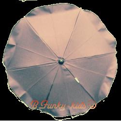 Ombrelle pour poussette universelle titane