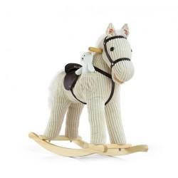 Cheval à Bascule Pony beige