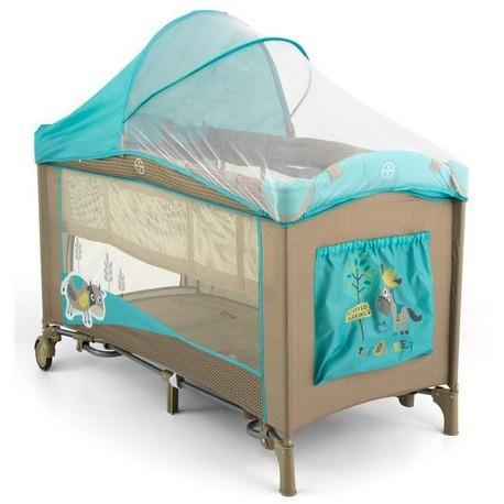 Lit parapluie avec table langer mirage vache bleue lits de voyage - Table a langer lit parapluie ...