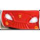 Lit voiture avec lumières et matelas