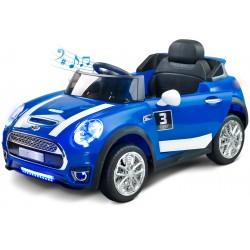 Voiture électrique Maxi 12V Bleu avec télécommande