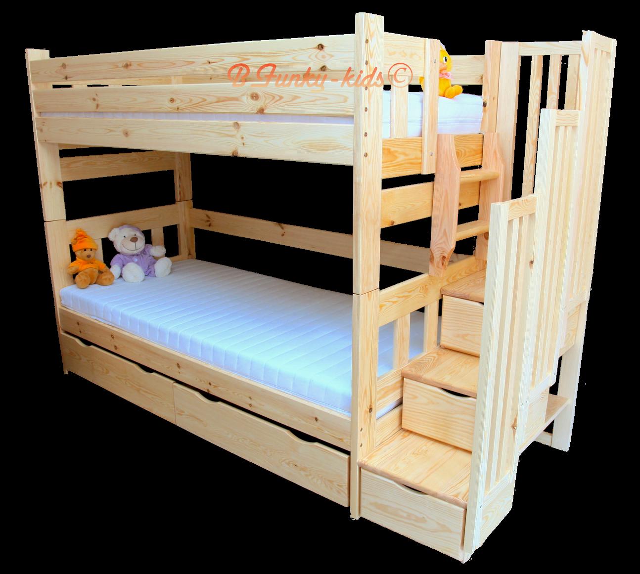 Lit Superposé Marche Escalier lit superposé avec escalier rangement et lit gigogne enrique